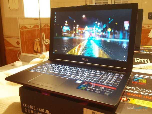 Portátil MSi 15.6″ Gaming (Quad-core, GTX 1060, SSD)