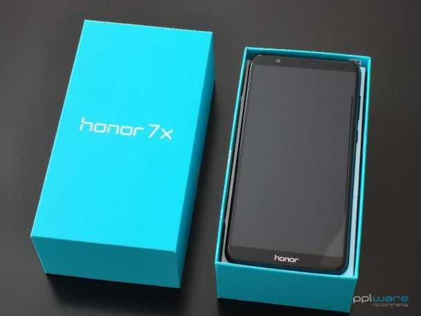 Smartphone Honor 7X 4+64GB preto
